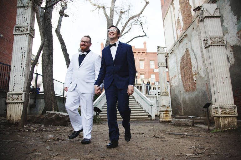 Married: Dylan + Matt