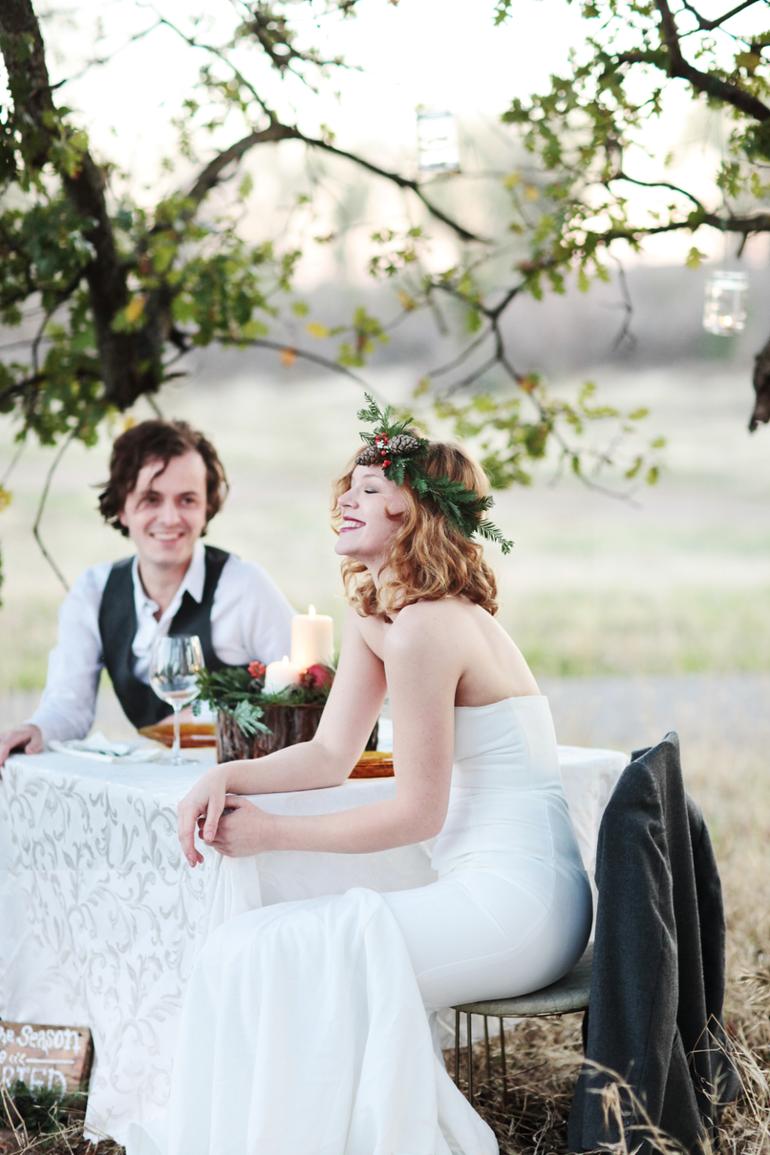 Winter Bridal Collaboration: Models: Thomas + Courtney