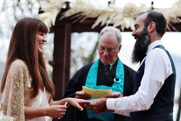 Married: Tawny + John
