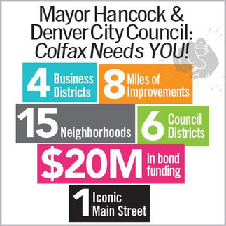 $20M Needed for Colfax Corridor - If not now, when?