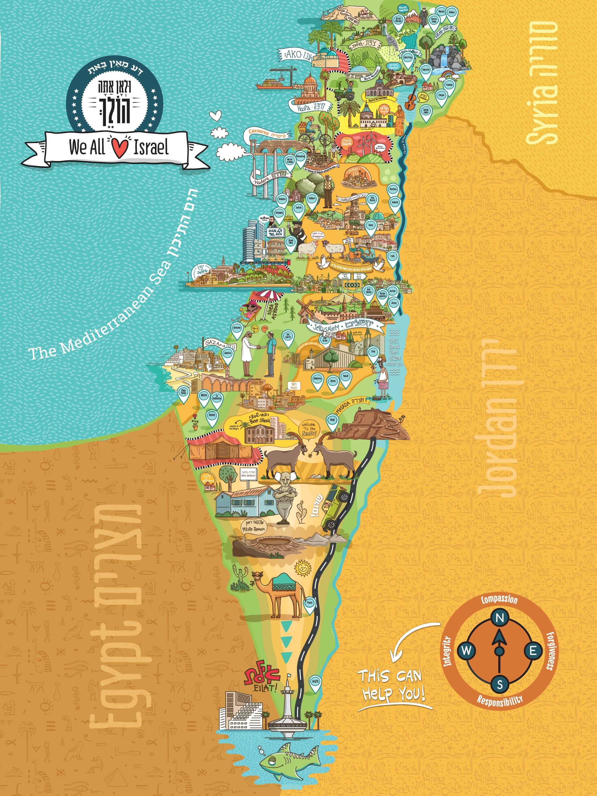 Virtual Tours of Israel