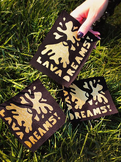 Lava Dreams Canvas Patch