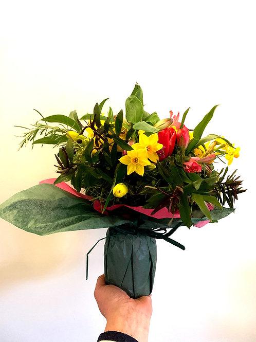 Mixed Flowers - Jam Jar