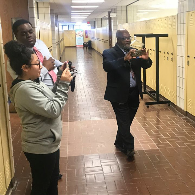 Cleveland H.S. Journalism Day