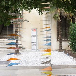 Installation in Palazzo Mora, Venice, Italy