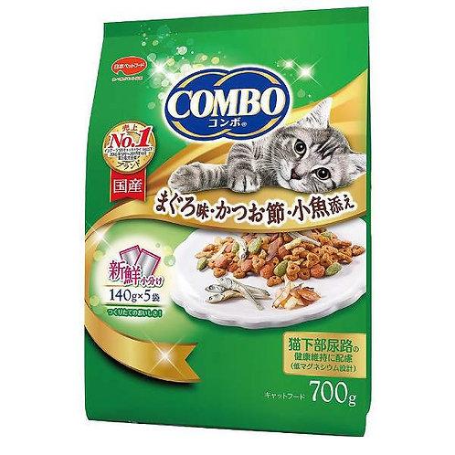 Combo Cat, Tuna flavor / bonito flakes / small fish 700 g