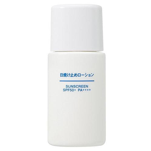 MUJI Sunscreen Lotion 30ml SPF50+/PA++++
