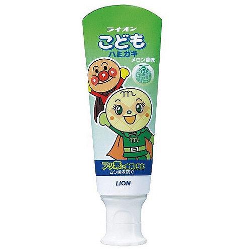 Anpanman Children Toothpaste, Melon Flavor, 40g