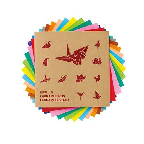MUJI Origami Set With Guide Birds