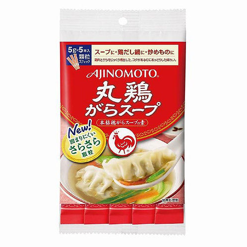 AJINOMOTO Chicken Broth Powder Type 5g × 5 stick