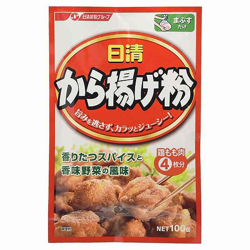 "Nissin Foods ""KARAAGE"", Japanese Style Fried Chicken powder 100g"