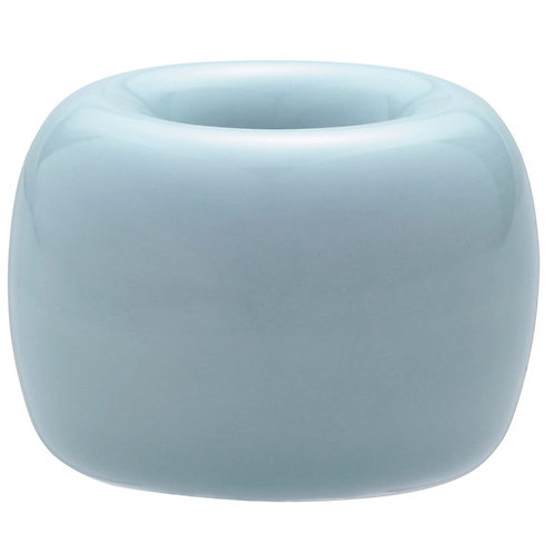 MUJI Porcelain Toothbrush Stand · Blue