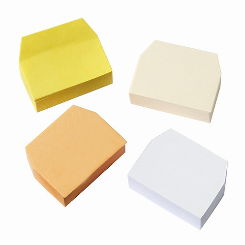MUJI Planted Trees Small Size Index Paper Sticky Notes 4 colors