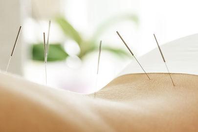 Alternative medicine. Close-up of femal
