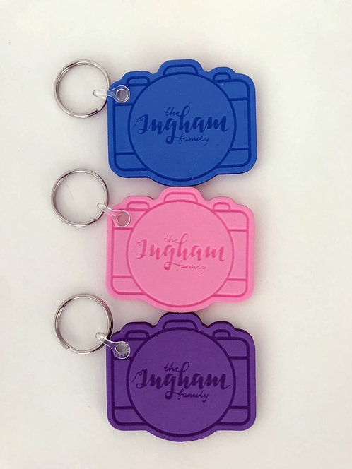 Ingham Family Vlog Camera Foam Key Ring
