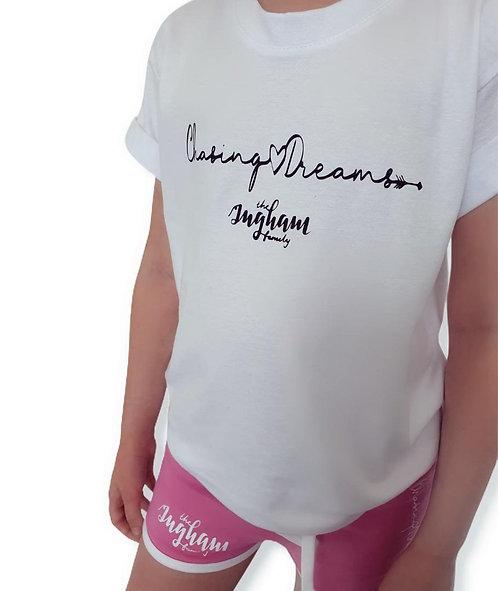 Chasing Dreams Shorts & T Shirt Set
