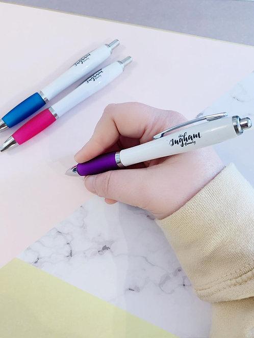 Ingham Family Ball Point Pen