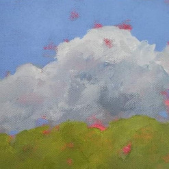 'cumulus rising (early september)'