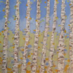 8 birches