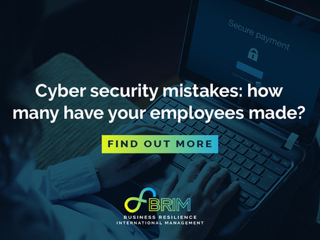 Cyber security mistakes – how many have your employees made?
