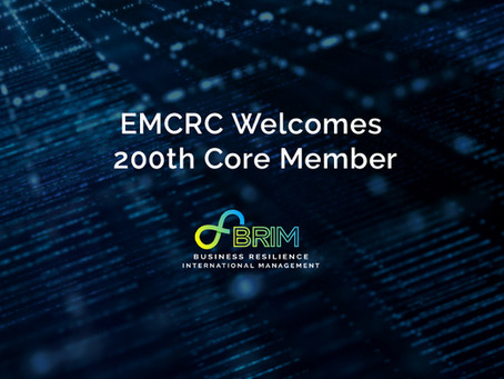 EMCRC Welcomes 200th Core Member
