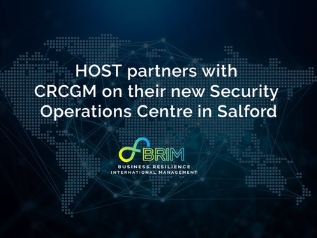HOST partners with CRCGM on their new Security Operations Centre in Salford