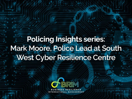 Policing Insights series: Mark Moore, Police Lead at South West Cyber Resilience Centre