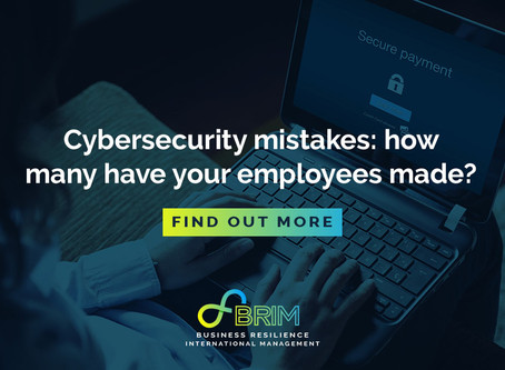 Cybersecurity mistakes – how many have your employees made?
