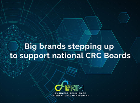 Big brands stepping up to support the boards of National Cyber Resilience Centres