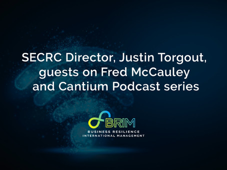 SECRC Director, Justin Torgout, guests on Fred McCauley and Cantium Podcast series