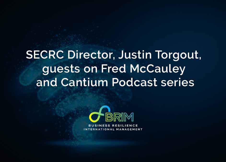 SECRC Justin Torgout guests with Fred McCauley exploring cyber resilience