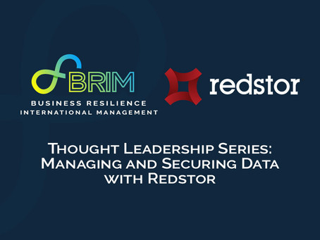 Thought Leadership Series: Managing and Securing Data with Redstor