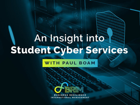 An Insight into Student Cyber Services, with Paul Boam