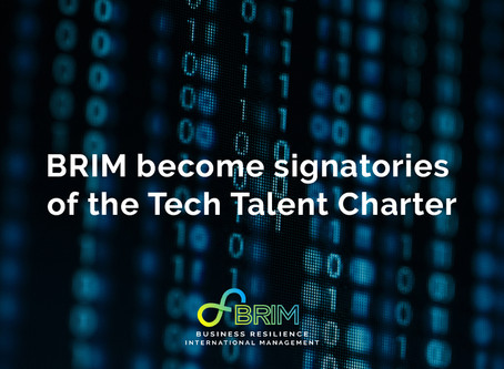 BRIM become signatories of the Tech Talent Charter