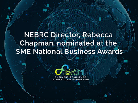 NEBRC Director, Rebecca Chapman, nominated at the SME National Business Awards