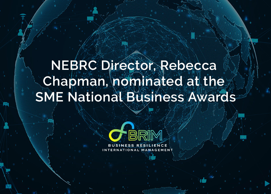 NEBRC North East Business Resilience Centre Director nominated for business award