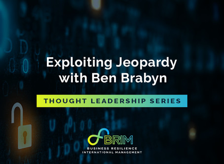 Thought leadership series: Exploiting Jeopardy with Ben Brabyn