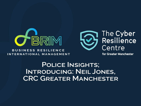 Policing Leadership Insights; Introducing: Neil Jones, CRC Greater Manchester