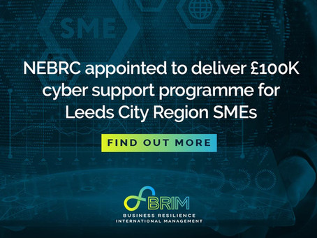 NEBRC appointed to deliver £100K cyber support programme for Leeds City Region SMEs