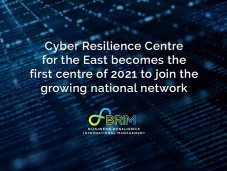 Cyber Resilience Centre for the East becomes the first centre of 2021 to join the growing network