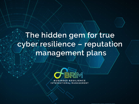 The hidden gem for true cyber resilience – reputation management plans