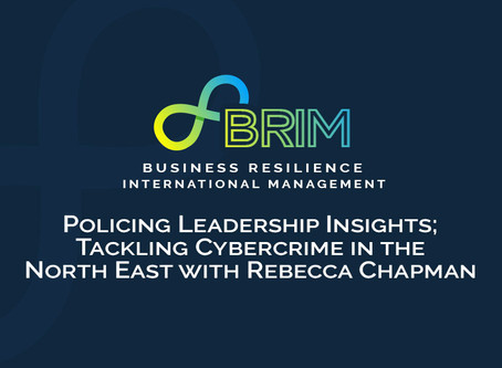 Policing Leadership Insights; Tackling Cybercrime in the North East with Rebecca Chapman