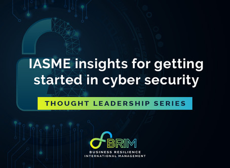 Thought Leadership series: IASME insights for getting started in cyber security