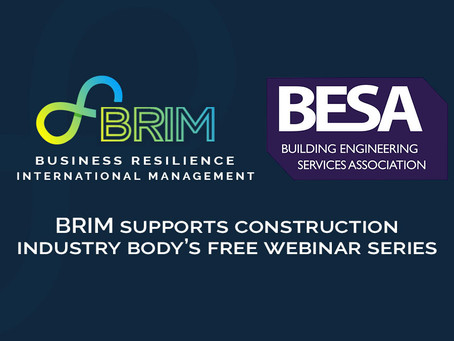 BRIM supports construction industry body's free webinar series