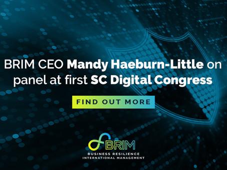 BRIM CEO Mandy Haeburn-Little on panel at first SC Digital Congress
