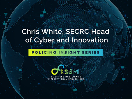 Policing Insights series – Chris White, SECRC Head of Cyber and Innovation