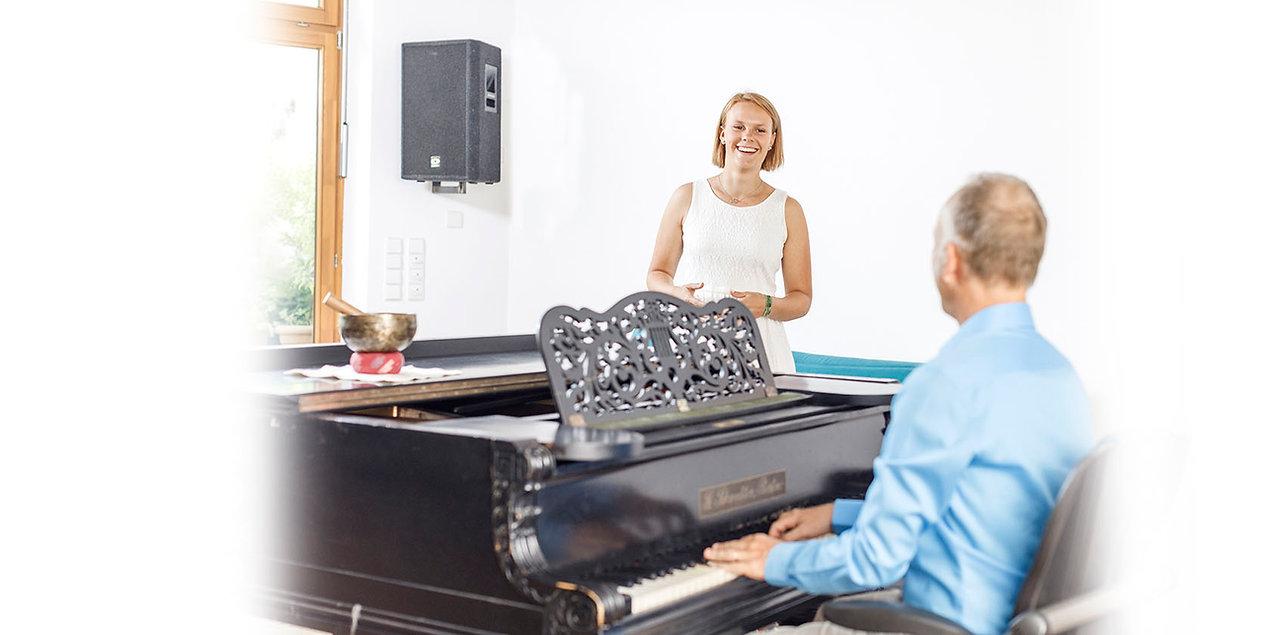 Gesangsunterricht Stimmwerkstatt Einzelunterricht