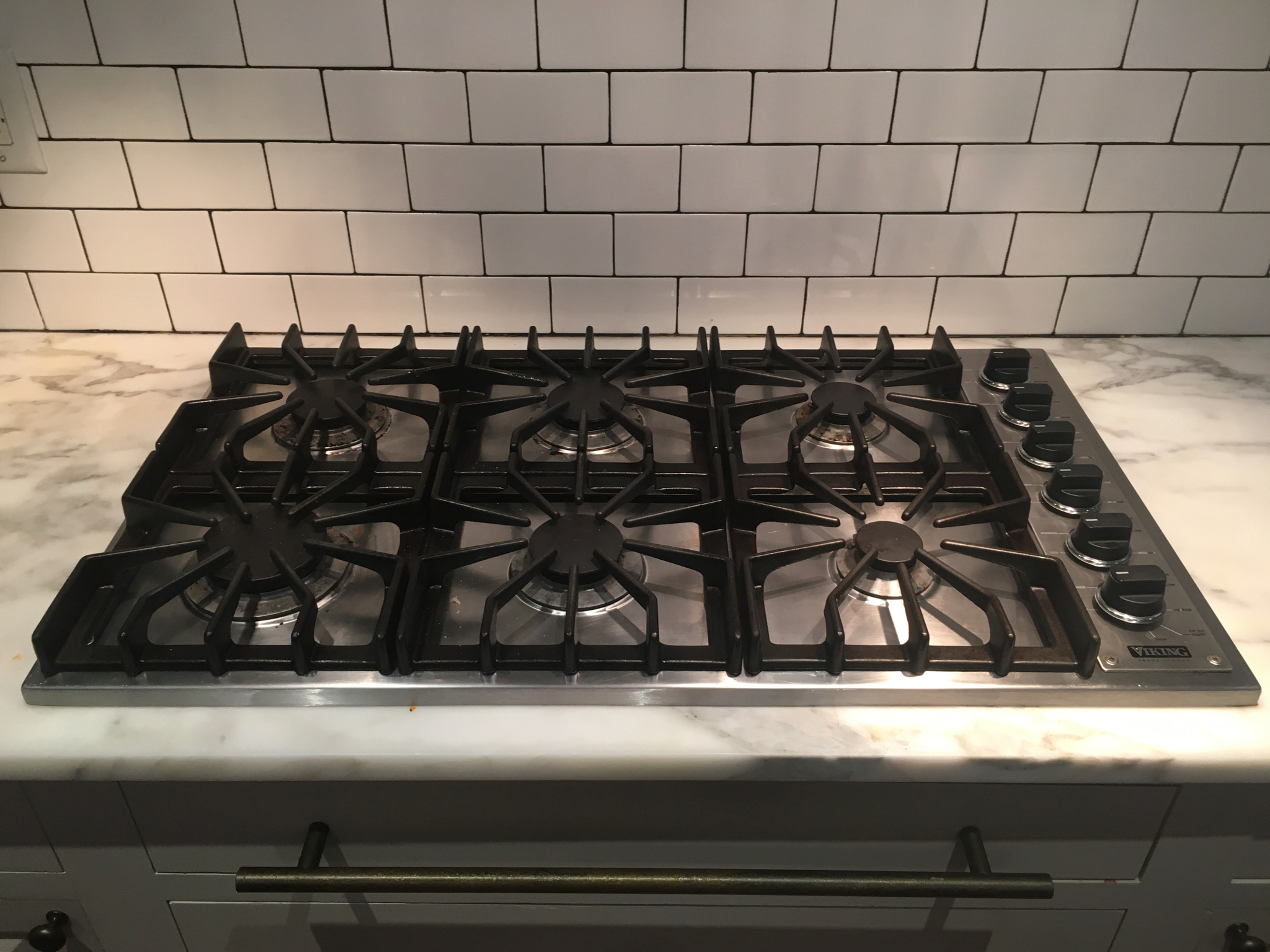 Viking Gas Cooktop