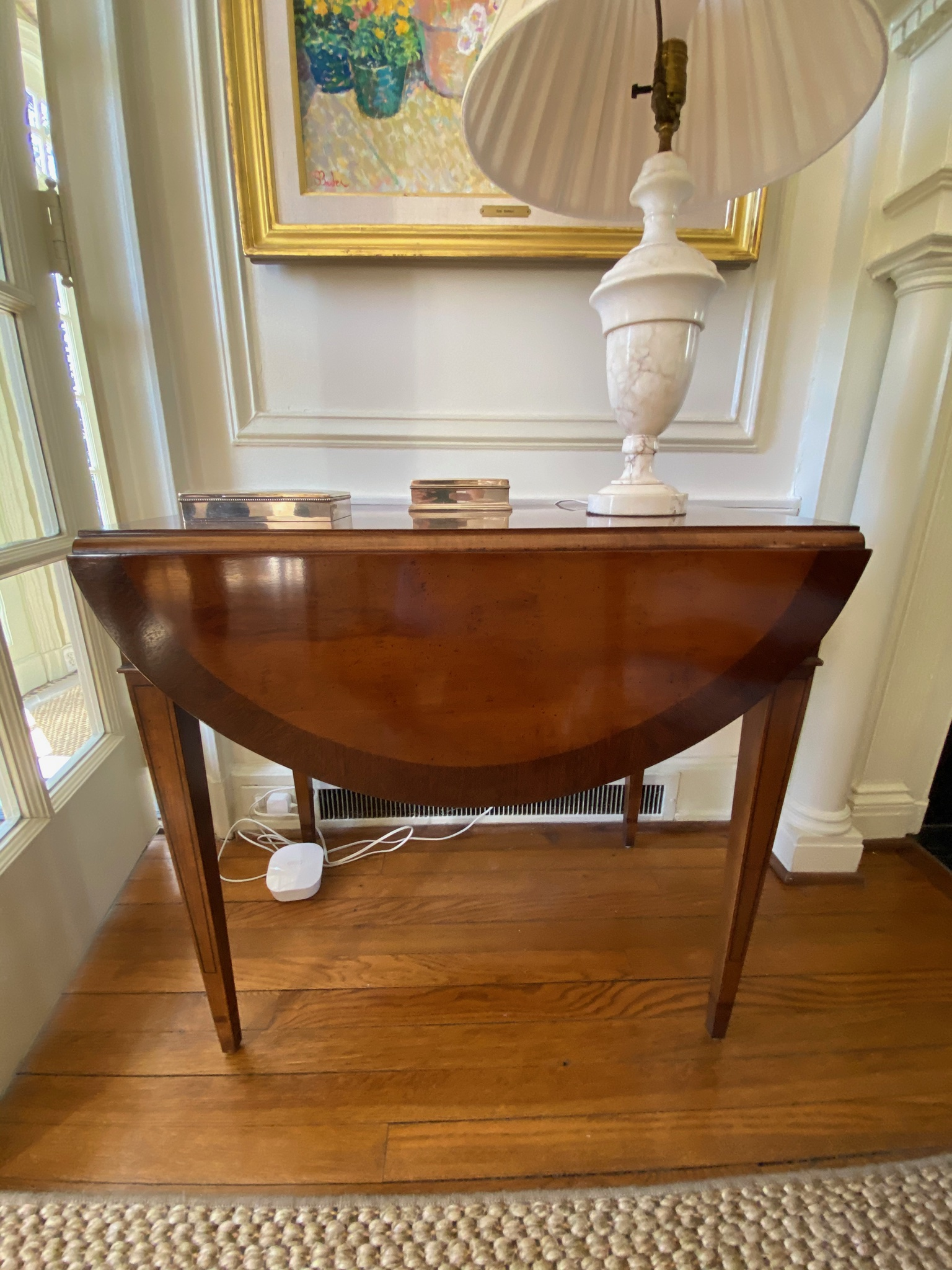 Mahogany Pembroke Table (2)