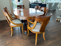 Baker Dining Table & Chairs